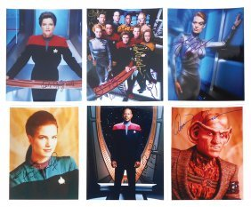 Autographed Photos (6), Star Trek: Voyager, Indiv Photo