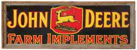 Farm implement sign, John Deere Farm Implements,