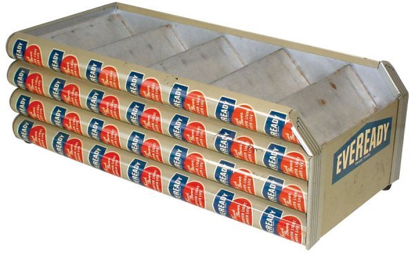 001: Advertising counter display, Eveready Batteries, p