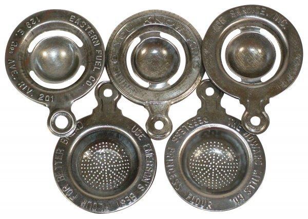 007: Kitchenware, advertising egg separators & strainer
