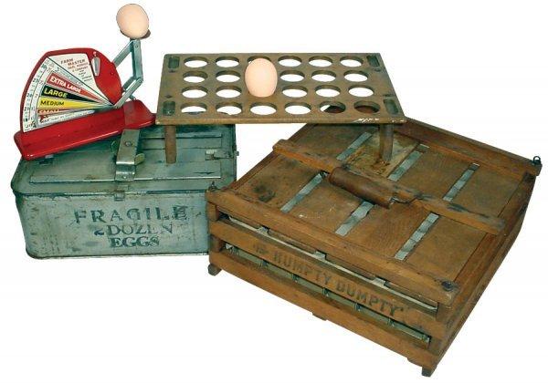 012: Kitchenware, Jiffy Way egg scale w/Sears, Roebuck