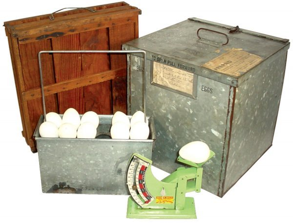 014: Kitchenware, egg scale, mfgd. by Brower Mfg. Co.,