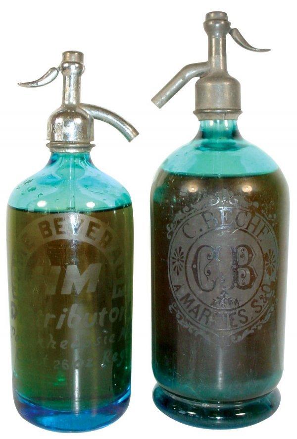023: Seltzer bottles (2); Home Beverage-Poughkeepsie NY