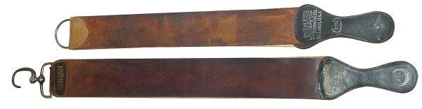 510: Barber shop razor strops (2); Shapleigh Hdwr. Co,