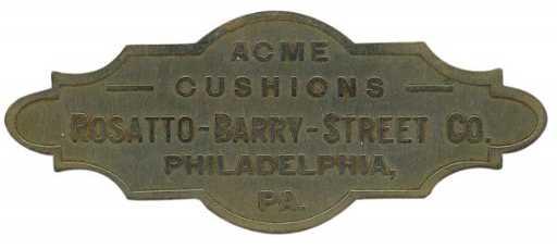Billiard Table Identification Plate Acme Cushion - Pool table identification