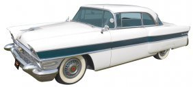 Automobile, 1956 Packard Executive 2-Door Hardtop. 1956