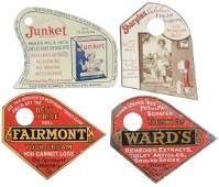 Advertising pot scrapers (4), Sharples Cream Separator,