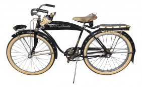 "Hopalong Cassidy 24"" boy's bicycle w/ Rocket Ray"