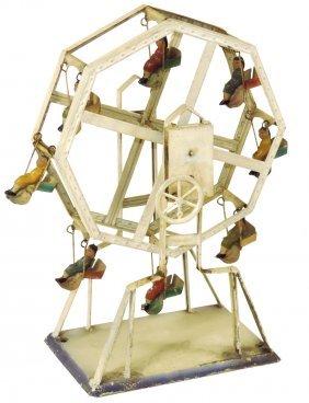 Steam toy, Carette Ferris Wheel, c.1900, replaced legs