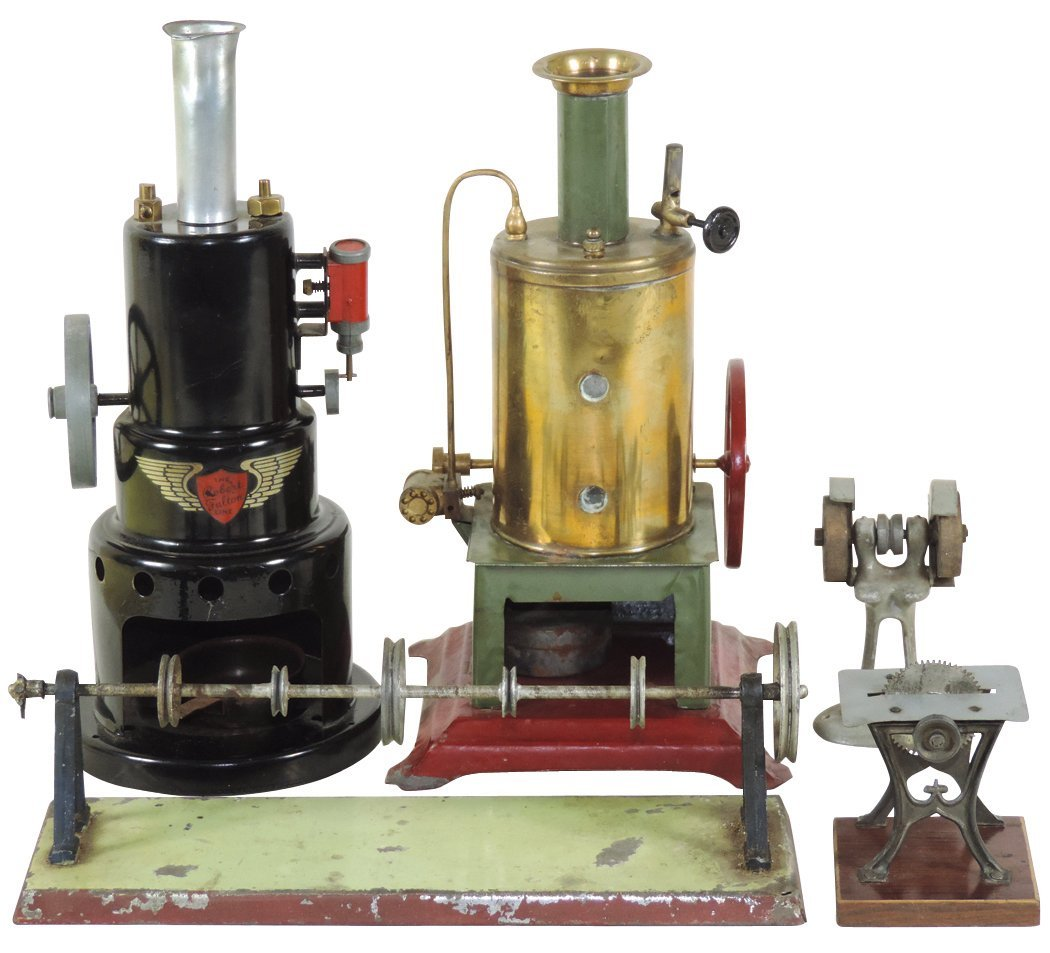 Steam toys (5), Marvin Steam Engine Robert Fulton,