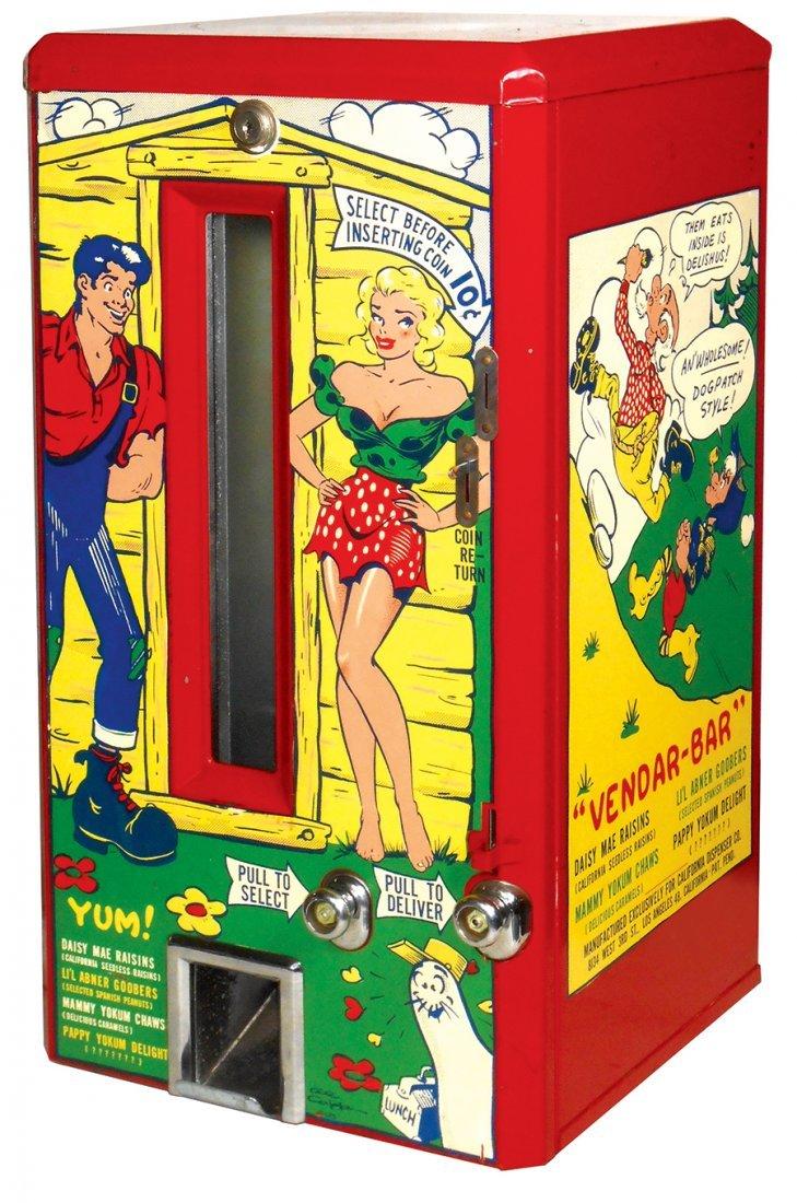 "Coin-operated vending machine, ""Yum"", great Al Capp"