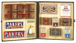 Salesman's sample candy display case, Walter Baker