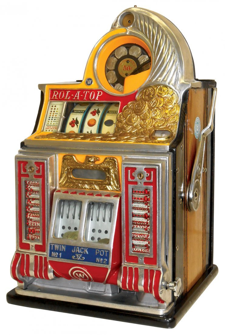 Coin-operated slot machine, Watling Rol-A-Top w/front
