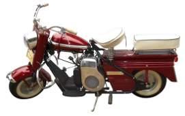 Motor scooter, Cushman, c.1959, has title, odometer