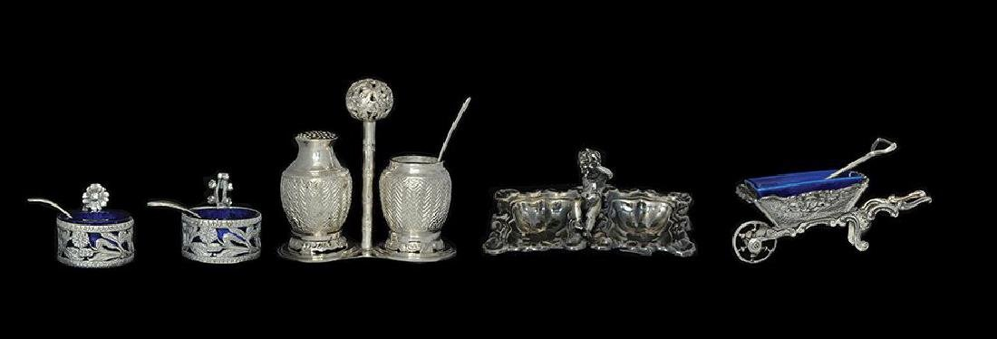 AN ASSORTED LOT OF SILVER SALTS