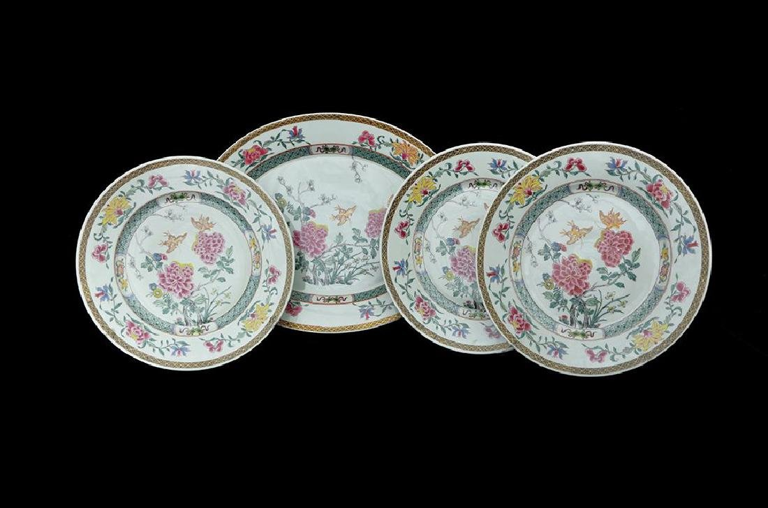 THREE LIMOGES HAVILAND PLATES