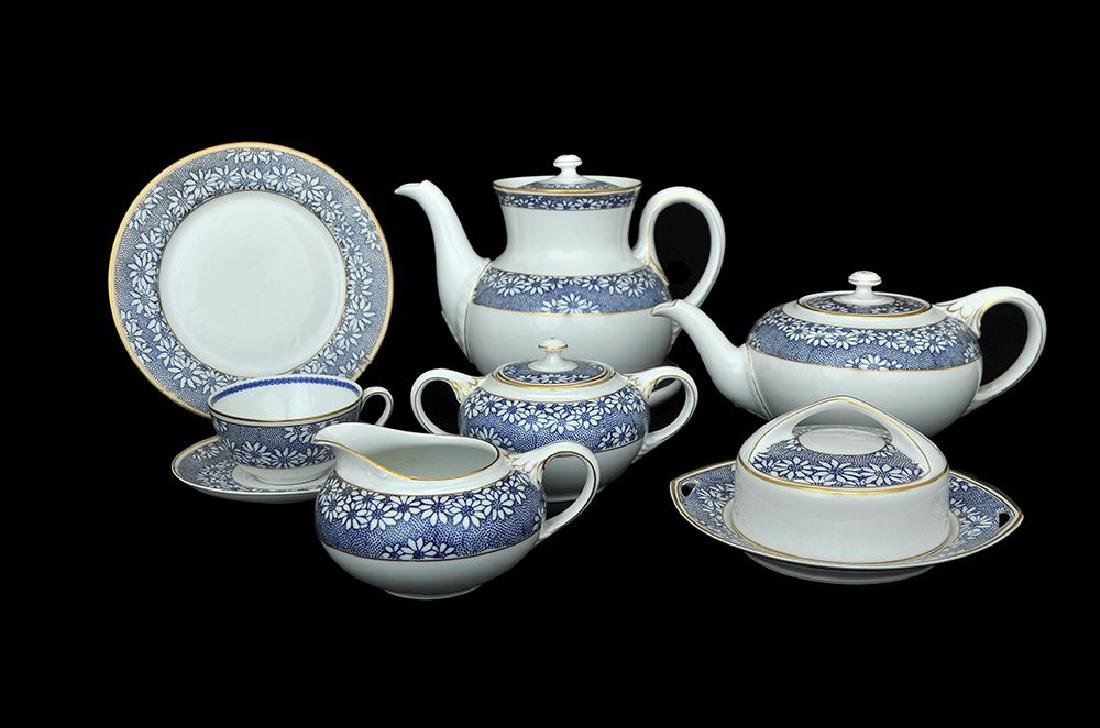 A ROSENTHAL PORCELAIN TEA AND COFFEE SERVICE
