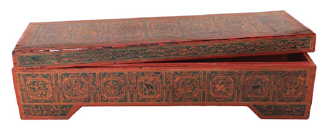 A BURMESE SUTRA BOX