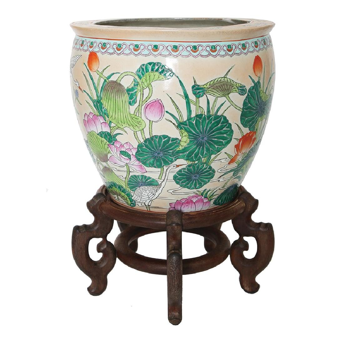 A CHINESE JARDINIERE