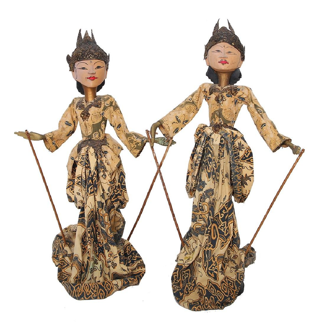 TWO ROD PUPPETS