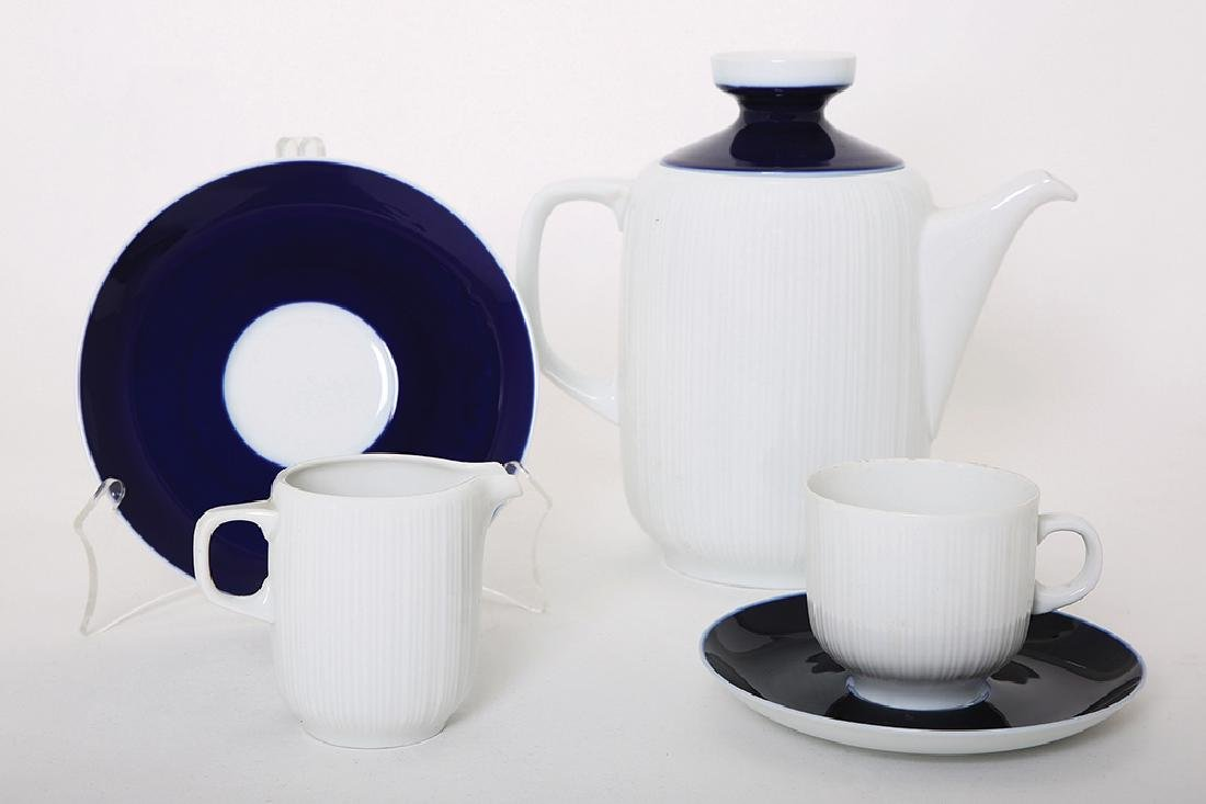 A HUTSCHENREUTHER COFFEE SET FOR TEN