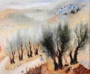 Reuven Rubin 1893 - 1974( Israeli )