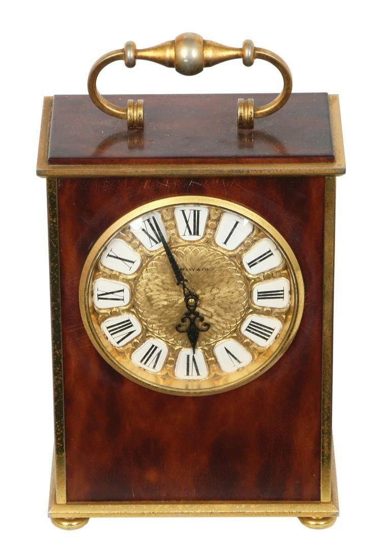 TIFFANY & CO., OLD SWISS TRAVEL CLOCK,