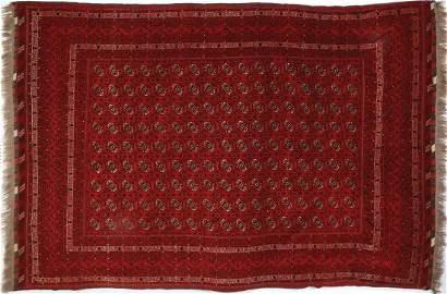 A fine old Turkoman Khoja Roshna rug