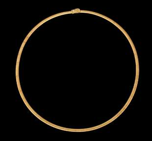 AN 18K H.STERN GOLD NECKLACE