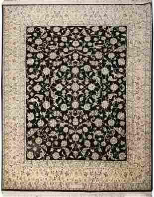 A SHISHLAH RUG, NAIN PERSIA, 20TH CENTURY