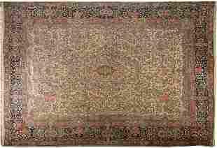 A PERSIAN OVERSIZE KERMAN CARPET