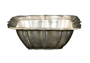 A CARTIER STERLING SILVER 'WINDSOR' BOWL