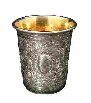AN STERLING SILVER CUP