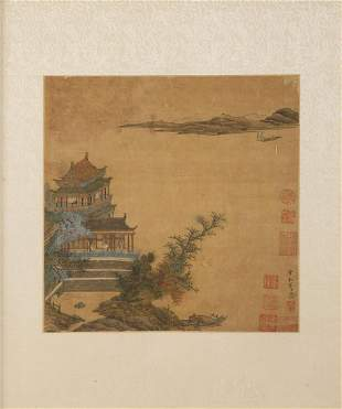 MID QING AFTER SONG DYNASTY ARTIST