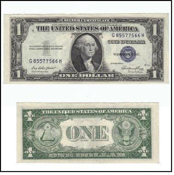 Mint Condition un-circulated Silver Certificate