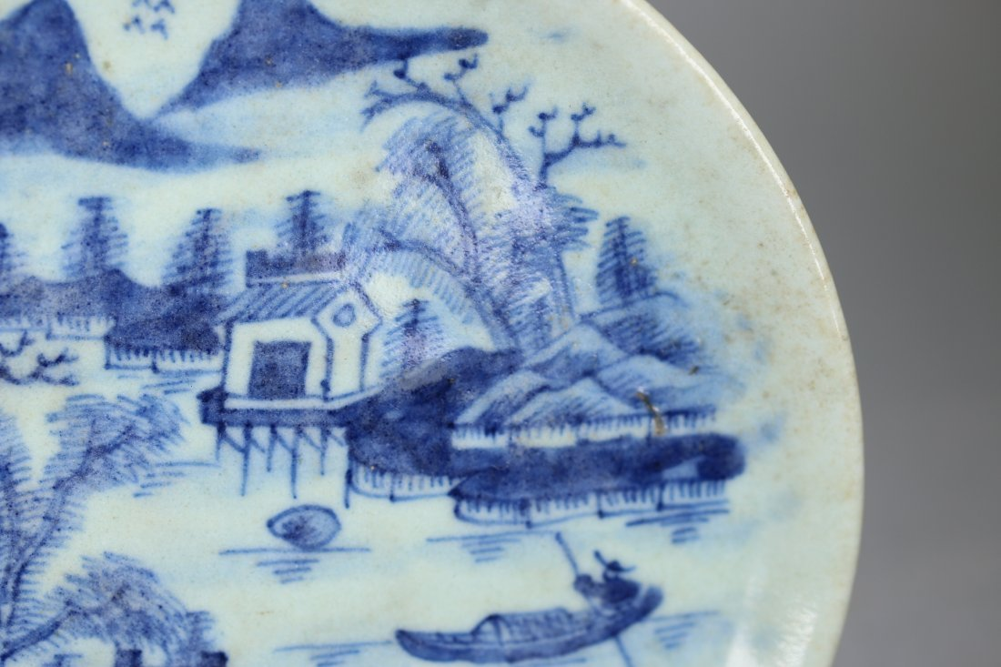 Ming Dynasty Cheng-Hua Blue and White Plate - 2