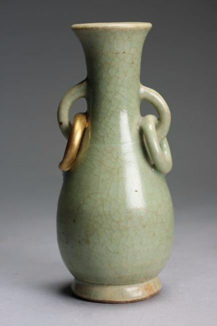 A 'Longquan' Celadon Vase, Song- Yuan Dynasty - 2