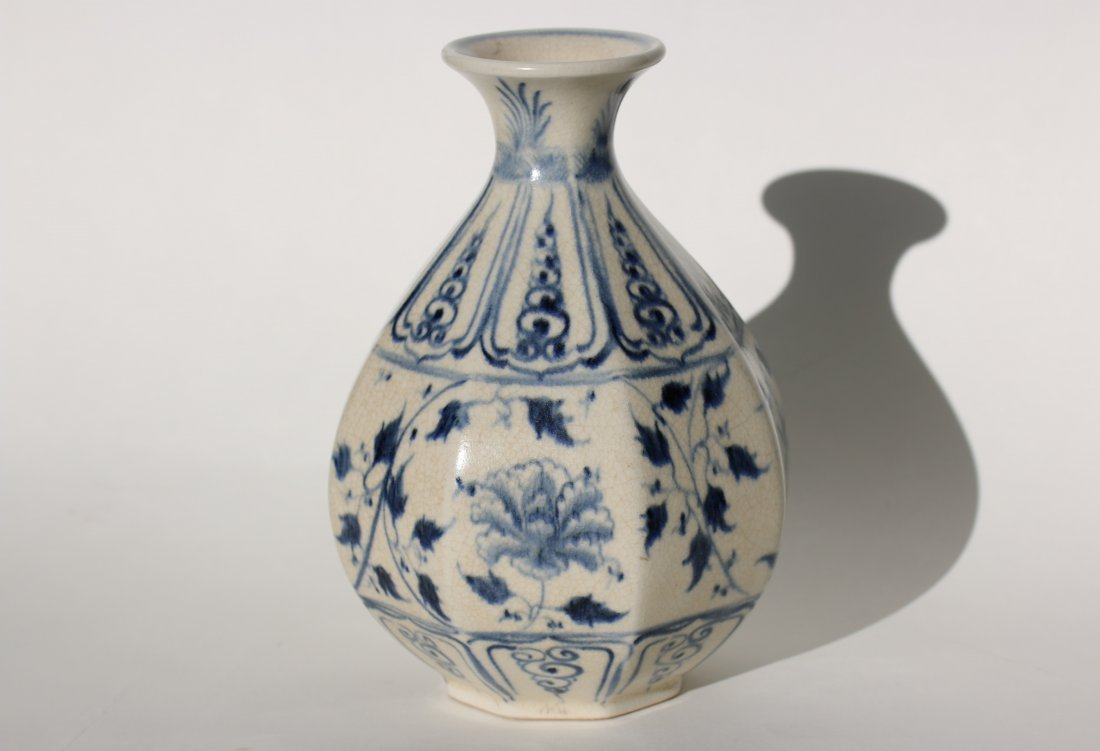 A Chinese blue and white Vase,Qing dynasty