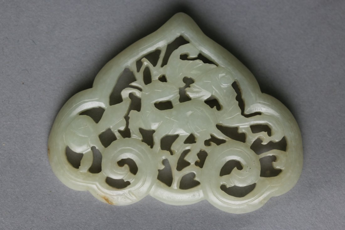 A Chinese Carved Jade