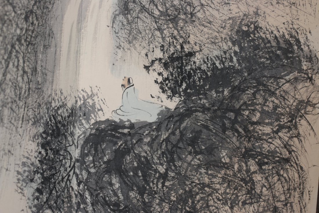 Signed Fu Baoshi, A Ink and Water Colors Album - 2