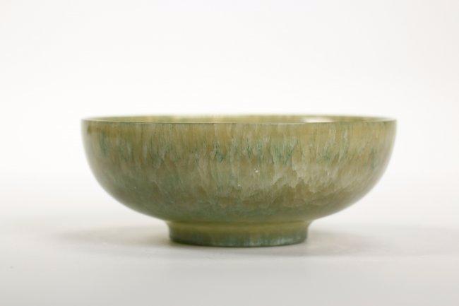 A Fine Green Jade Bowl