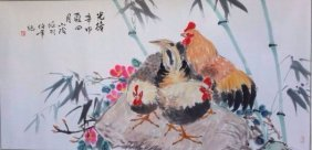 A Chinese water color paiting,Ren Bainian(