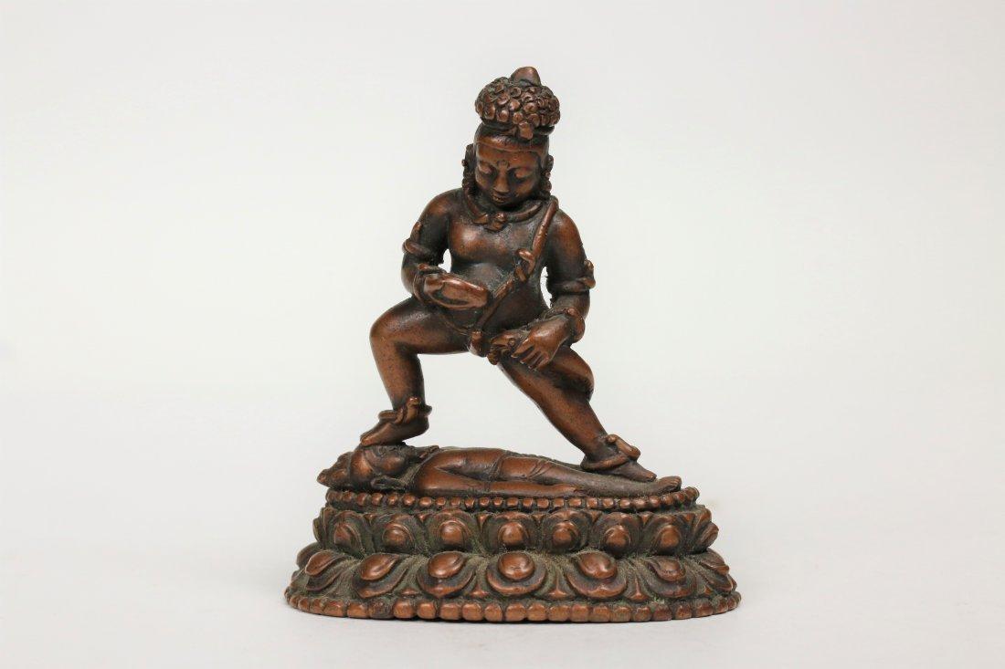 A Bronze Buddha Statue,15/16th century
