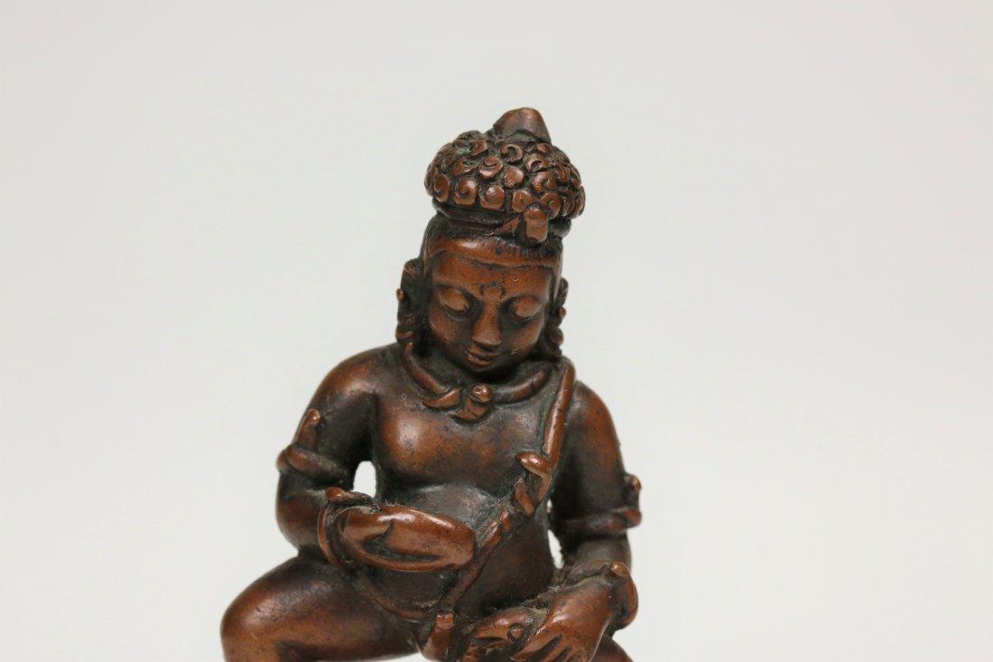 A Bronze Buddha Statue,15/16th century - 2