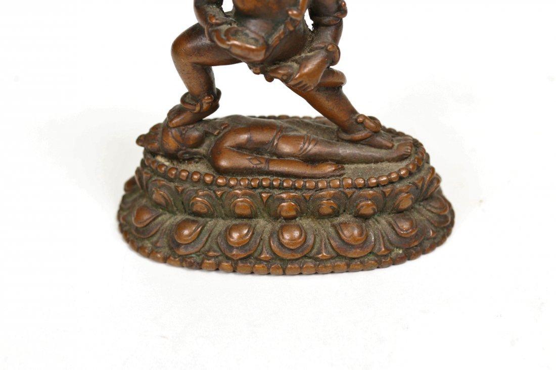 A Bronze Buddha Statue,15/16th century - 3