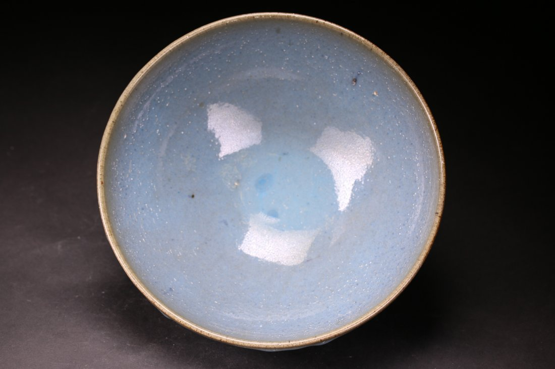 A Chinese Jun Yao Bowl. Ming Dynasty.