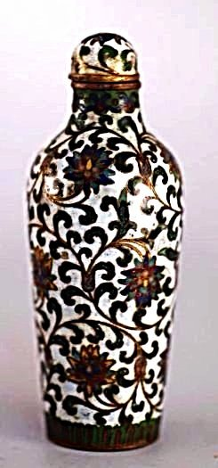 An Chinese Cloisonne Snuff Bottle,19 century