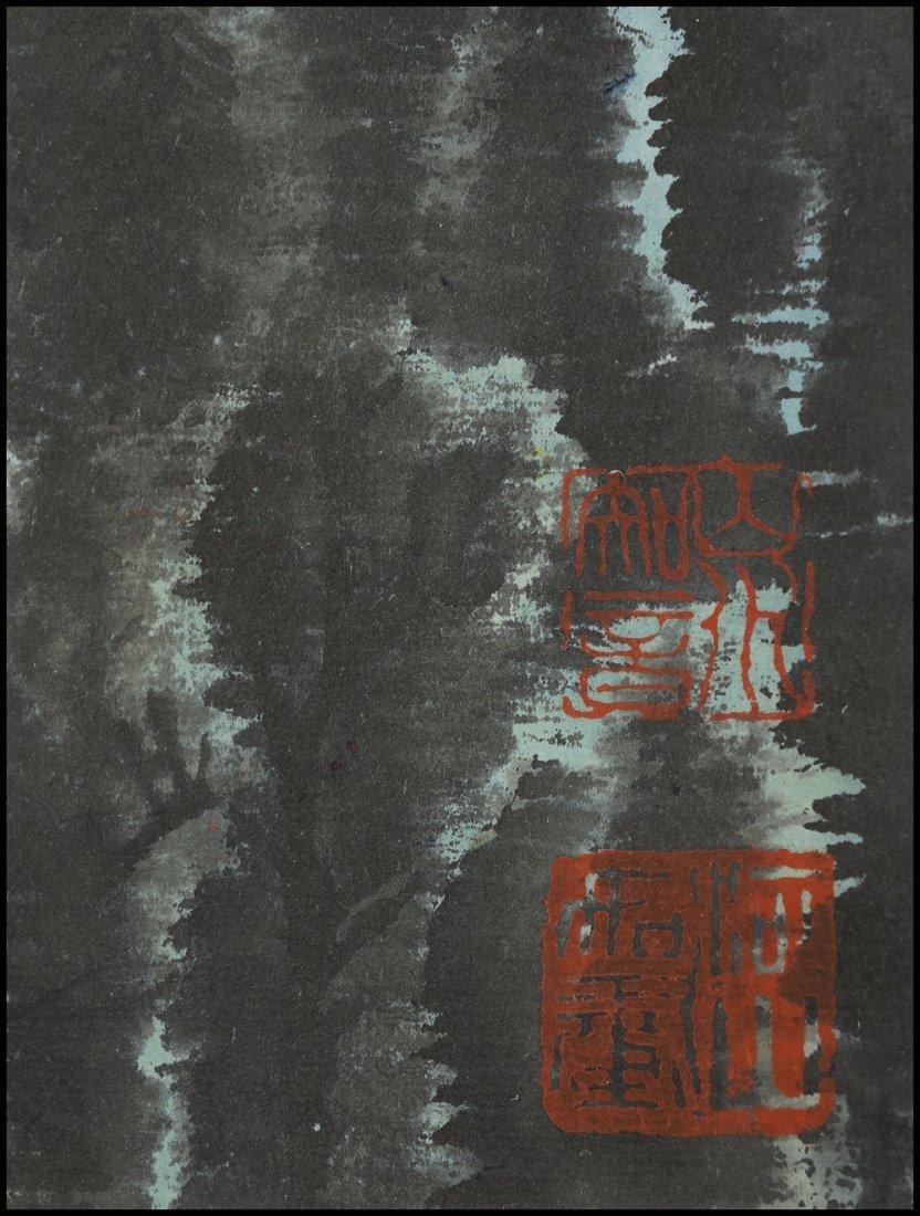 A CHINESE SCROLL PAINTING By Li Keran - 5