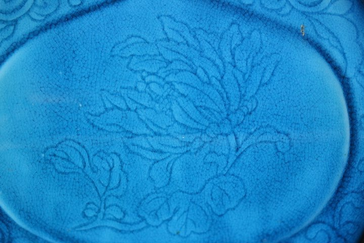 A Chinese Blue Glazed Porcelain Vase, Late Qin - 5