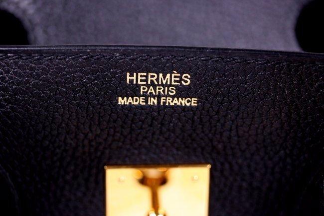 HERMES Togo Birkin 35 Black - 5